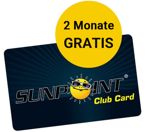 SUNPOINT Club Stoerer 2 Monate gratis